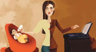 للأم العاملة: لا تموتي قبل أوانك
